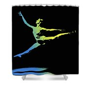 In Strength, Beauty Ill Shower Curtain