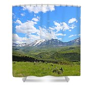 In The Back Country 2 Shower Curtain