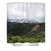In The Back Country Shower Curtain