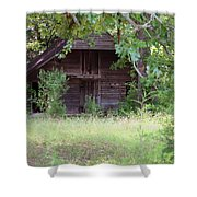 In The Back Woods Shower Curtain