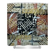 In The Depth Of My Mind Shower Curtain