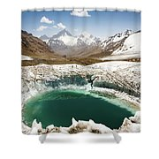 In The Depth Of Pamir Shower Curtain