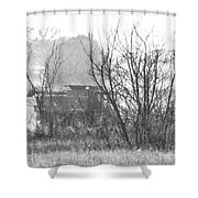 In The Dust Of The Harvest Shower Curtain