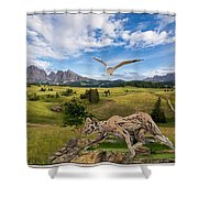 In The Field 27 Shower Curtain