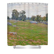 In The Fields Shower Curtain