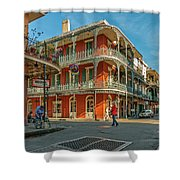 In The French Quarter - 3 Shower Curtain