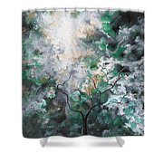 In The Glory Shower Curtain