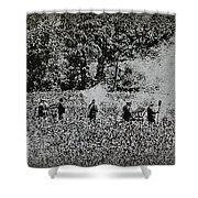 In The Heat Of Battle - Gettysburg Pa Shower Curtain