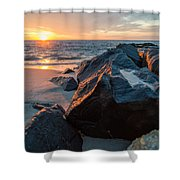 In The Jetty Shower Curtain
