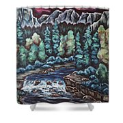 In The Land Of Dreams Shower Curtain