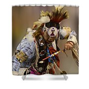 Pow Wow In The Moment Shower Curtain