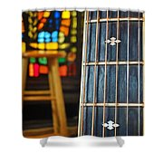 In The Neck Of Time Shower Curtain