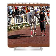 In The Paddock Shower Curtain