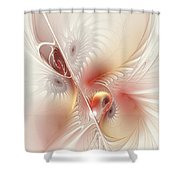 In The Pink Frac Shower Curtain