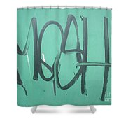 Mosh Against Cancer Shower Curtain