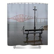 In The Rain Shower Curtain