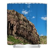 In The Royal Gorge Shower Curtain