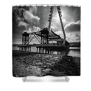 Northern Spire Bridge 4 Shower Curtain