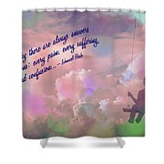 In The Sky 2016 Shower Curtain