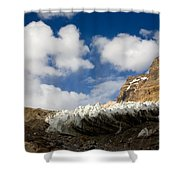 In The Sky And On The Earth Shower Curtain