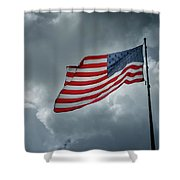 In The Sky Shower Curtain
