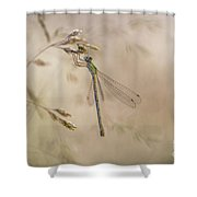 In The Small World  Shower Curtain