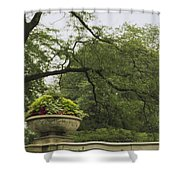 In The Spring Shower Curtain