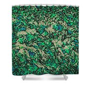 In The Stillness Of The Pond Shower Curtain