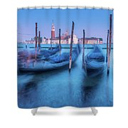 In The Twilight Of Memory Shower Curtain
