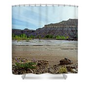 In The Valley Low Shower Curtain