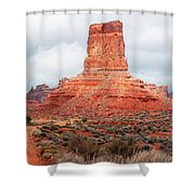 In The Valley Of The Gods Shower Curtain