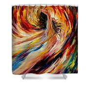 In The Vortex Of Passion Shower Curtain