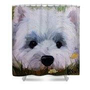 In The Weeds Shower Curtain