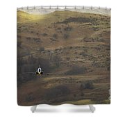 Mach Loop Shower Curtain