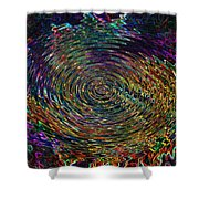 In The Whirl Of Light Shower Curtain