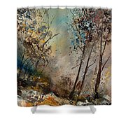 In The Wood 451180 Shower Curtain