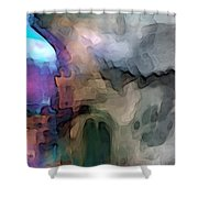 In The World Shower Curtain