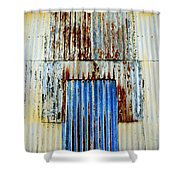 In Through The Out Door Shower Curtain