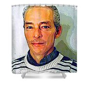 In Truth You Never Die Shower Curtain