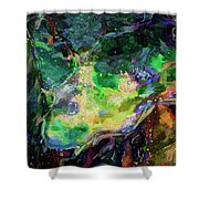 In Tune With Nature Shower Curtain
