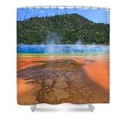 In Yellowstone Shower Curtain