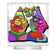 In Your Mind Shower Curtain
