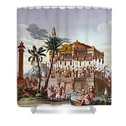 Inca Native Indians Shower Curtain