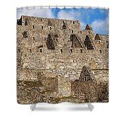 Inca Stone Ruins Shower Curtain