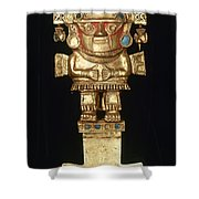 Incan Gold Ornament Shower Curtain