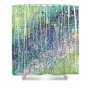 Incandescent Shower Curtain