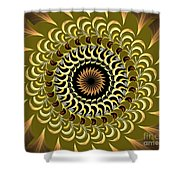 Incendia Kaleidoscope Shower Curtain