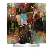 Incipient Bloom Shower Curtain
