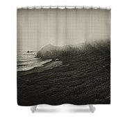 Incoming Fog Shower Curtain