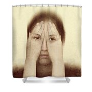 Indecision Shower Curtain